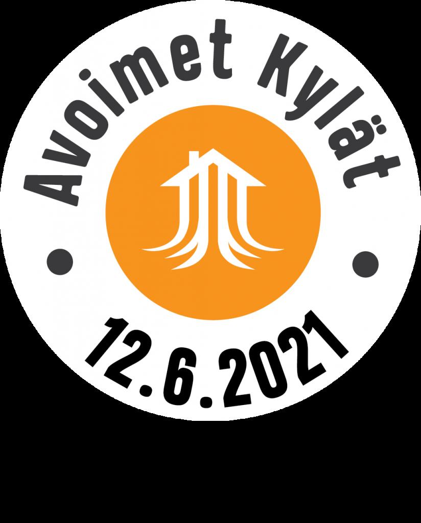 Avoimet kylät -logo